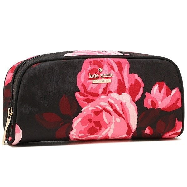 Kate Spade New York Classic Nylon Cosmetic Case Berrie-Bl...