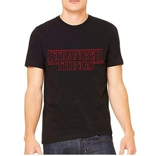 Stranger Things Funny Black T Shirt with Saying