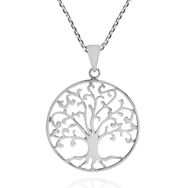 Shop Handmade Cosmic Swirl Tree Of Life Symbol Sterling Silver