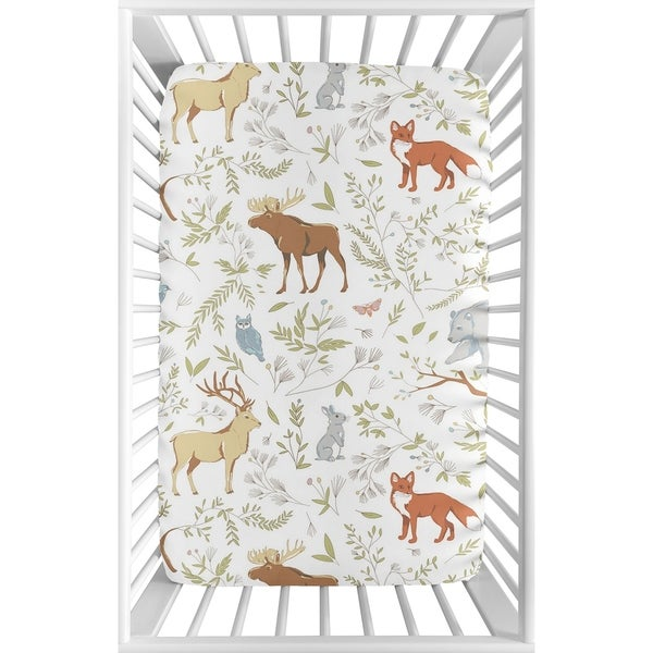 Shop Sweet Jojo Designs Animal Print Woodland Toile