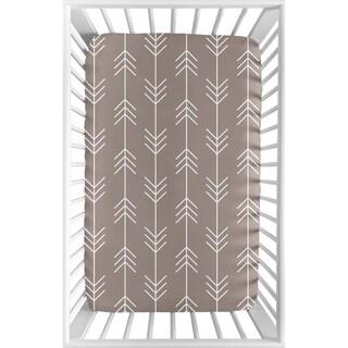 Shop Sweet Jojo Designs Giraffe Print Fitted Crib Sheet