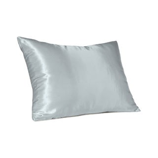 Sweet Dreams Silky Satin Pillow Case With Hidden Zipper (Option: Brown)