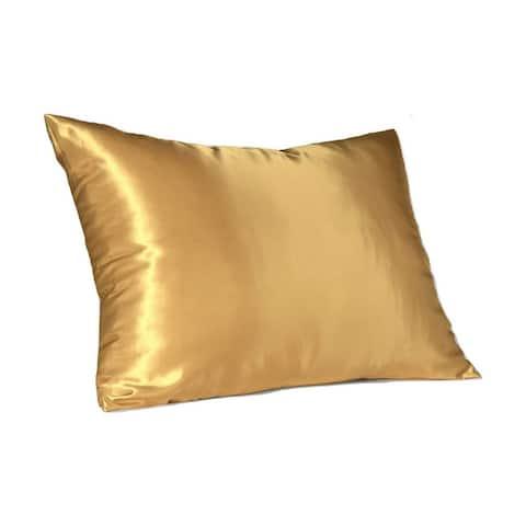 Sweet Dreams Silky Satin Pillow Case with Hidden Zipper