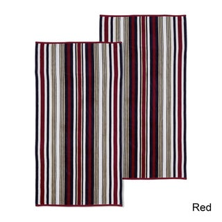 Superior 100% Cotton Rope Textured Oversized Beach Towel (Set of 2) - 34 x 64