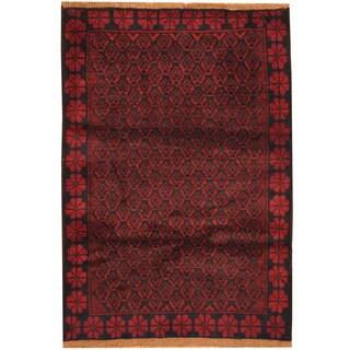 Handmade Balouchi Wool Rug (Afghanistan) - 2'11 x 4'4