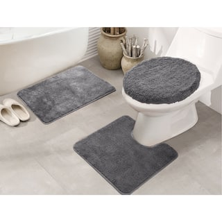 Rt Designers Collection Royalty 3 Piece Bath Rug Set