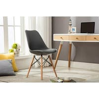 Porthos Home Dining Chair With Birch Wood Eiffel-Legs (Set of 2)