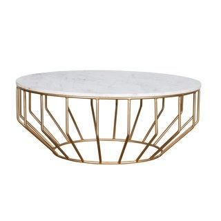 Golden Leaf Coffee Table
