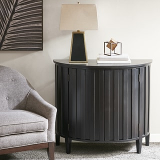 Madison Park Chester Black Wood 2 Door Accent Cabinet