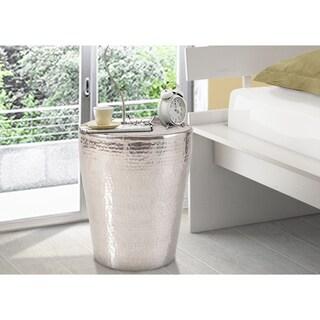 Gerald Aluminum Coffee Table - Silver