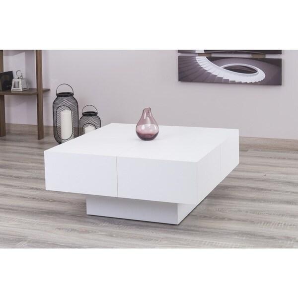 Merveilleux Milano White Glossy Coffee Table