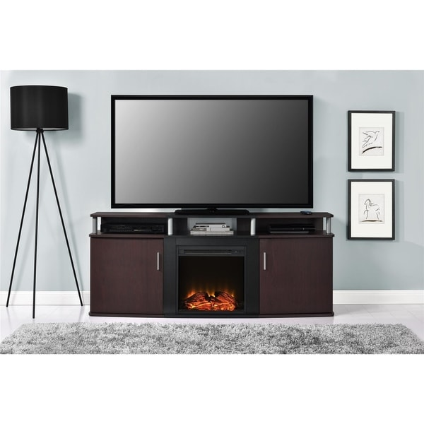 Shop Avenue Greene Ford Electric Fireplace 70 Inch TV ...