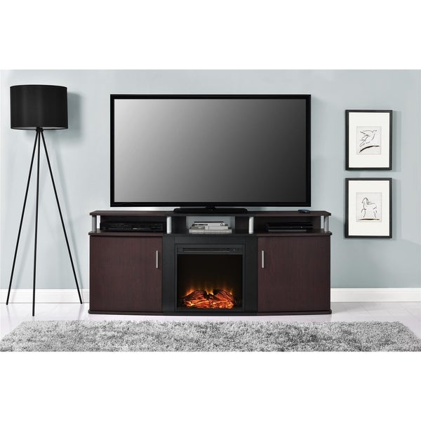 Shop Avenue Greene Ford Electric Fireplace 70 Inch Tv