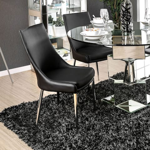 Furniture of America Tila Contemporary Dining Chairs (Set of 2)