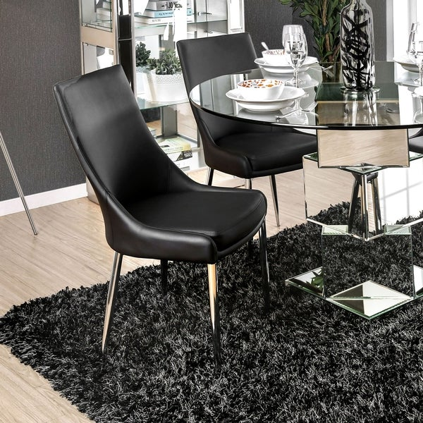 White Dining Room Set Sale: Shop Lindellen Contemporary White Dining Chair (Set Of 2