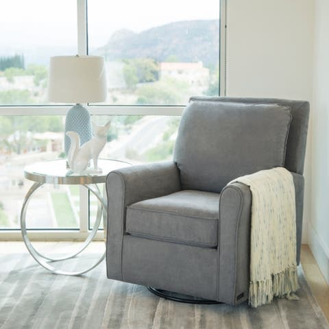 Abbyson Shiloh Fabric Gliding Chair