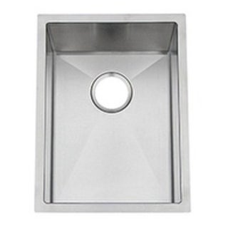 Artisan CPUR1519-D10 Chef Pro Single Bowl 16 Gauge Stainless Steel Undermount Sink with Accessories