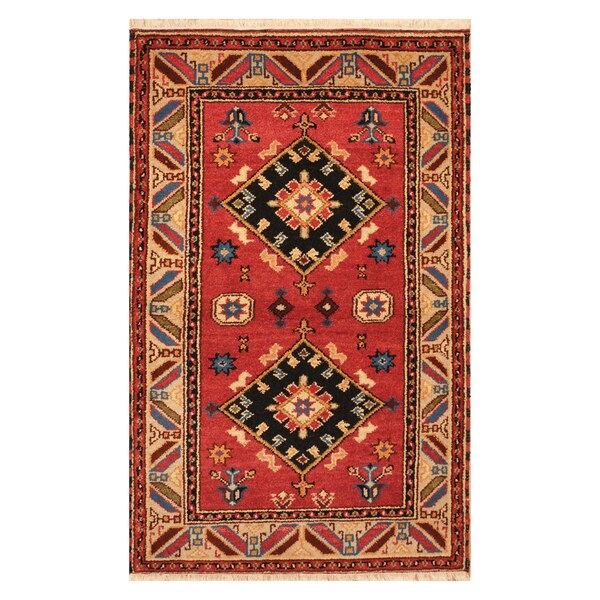 Shop Handmade Herat Oriental Indo Hand-knotted Tribal