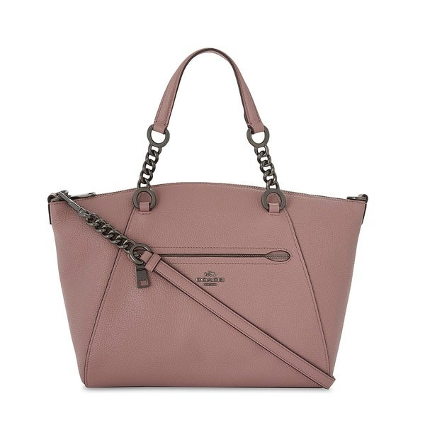 e955152fb6 ... wholesale coach prairie dark dusty rose chain satchel handbag 8505e  dc971
