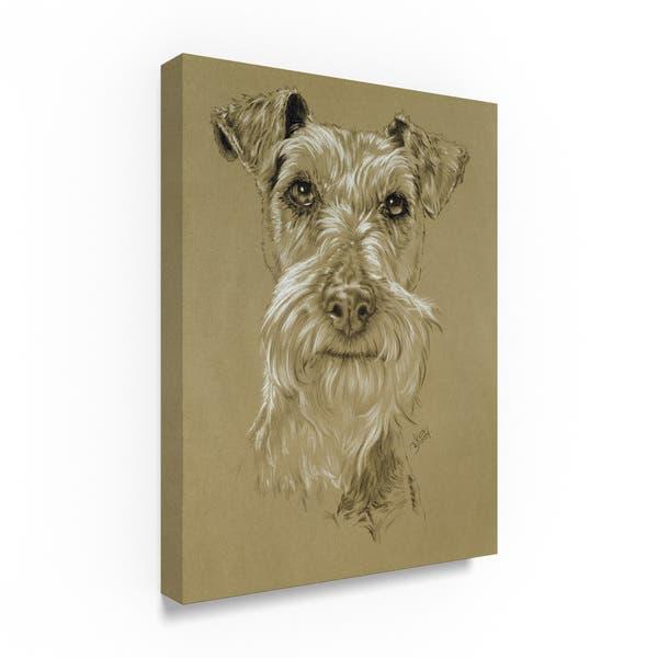 Shop Barbara Keith 'Irish Terrier' Canvas Art - Free Shipping ...