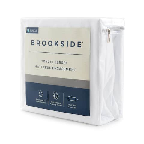 BROOKSIDE TENCEL Jersey Encasement Mattress Protector