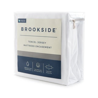 BROOKSIDE TENCEL Jersey Encasement Mattress Protector