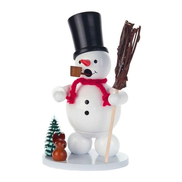 "Alexander Taron Dregeno Incense Burner - Snowman - 5.5""H x 4""W x 3""D"