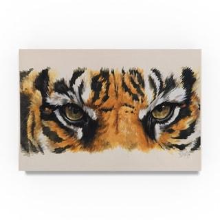 Barbara Keith 'Eye Catching Tiger' Canvas Art