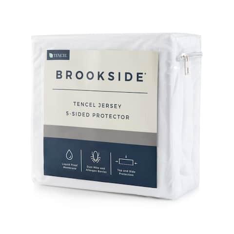BROOKSIDE TENCEL Jersey 5-Sided Mattress Protector