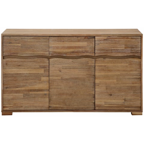 Surf Entertainment Center with 3 Doors and 3 Drawers