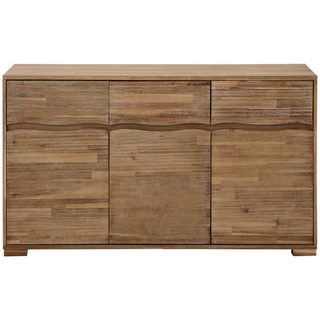 Surf Sideboard with 3 Doors and 3 Drawers
