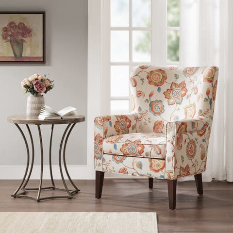 Madison Park Halford Accent Wingback Chair