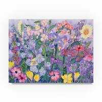 Carissa Luminess 'Soft Spring' Canvas Art