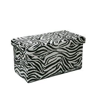 Kennedy Double Folding Ottoman Zebra