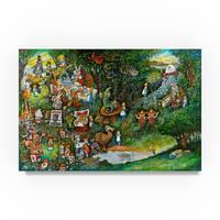 Bill Bell 'Alice In Wonderland' Canvas Art