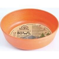 EcoSouLife Bamboo - Standard Bowl 16 Oz, Orange