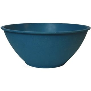 EcoSouLife Bamboo - Salad Bowl 128 Oz, Navy