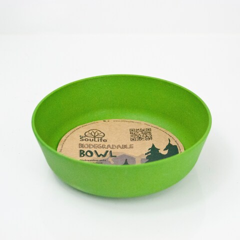 EcoSouLife Bamboo - Standard Bowl 16 Oz, Green