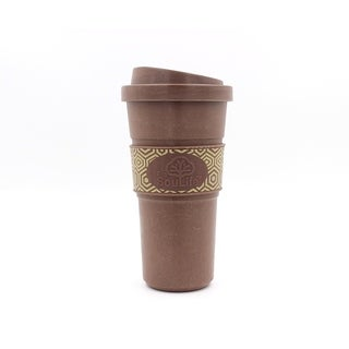 EcoSouLife Bamboo - Aroma Cup 20 Oz., Coffee
