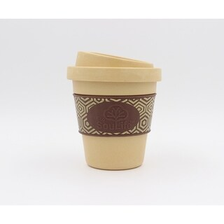 EcoSouLife Bamboo - Aroma Sip Cup 12 Oz., Almond