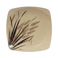 EcoSouLife Husk - Rice Paddy LG Sq Plate, Natural