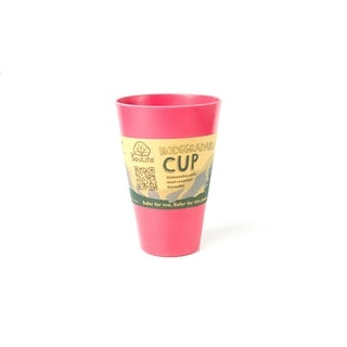 EcoSouLife Bamboo - Cup 15 Oz., Pink