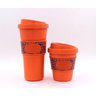 EcoSouLife Bamboo - Aroma Cup 20 Oz., Orange