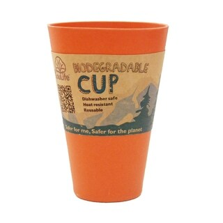 EcoSouLife Bamboo - Cup 15 Oz., Orange