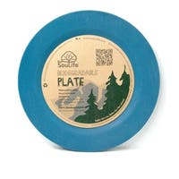 EcoSouLife Bamboo - Side Plate 20CM, Navy