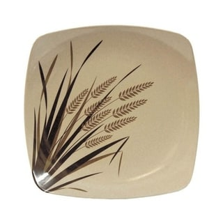 EcoSouLife Husk - Rice Paddy SM Sq Plate, Natural