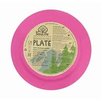 EcoSouLife Bamboo - Dinner Plate 25CM, Pink
