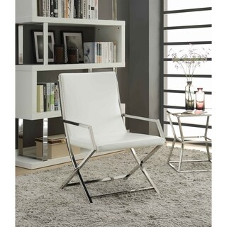 Shop Levon Charcoal Showood Accent Chair Free Shipping