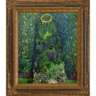 Gustav Klimt 'Sunflower' Hand Painted Oil Reproduction