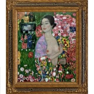 Gustav Klimt 'The Dancer' Hand Painted Oil Reproduction
